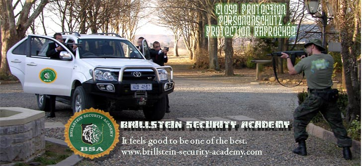 Brillstein Security Academy - it feels good to be one of the best!